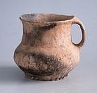 Rare Chinese Neolithic Pottery Cup - Banshan / Majiayao