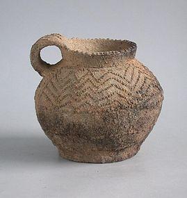 Fine Chinese Neolithic Pottery Jar - Banshan / Majiayao