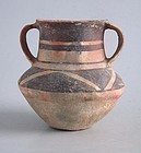 Rare Chinese Neolithic Xindian Culture Pottery Jar