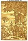 Chiaroscuro Woodblock Print . John Baptist Jackson 1741
