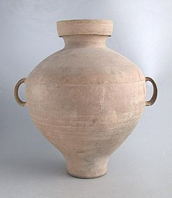 Large Chinese Han Dynasty Pottery Jar
