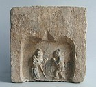 Large Chinese Jin Dynasty Filial Piety Tile - Zeng Shen