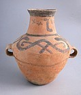 Rare Large Chinese Neolithic Xindian Culture Pottery Jar