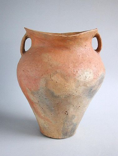 Large Chinese Neolithic Pottery Jar - Siwa Culture (c. 1350 BC)