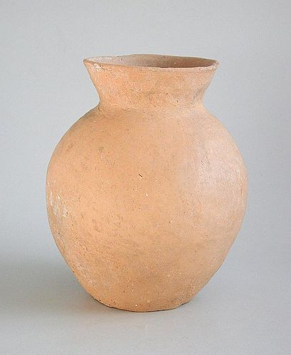 Chinese Neolithic Burnished Pottery Jar - Qijia Culture