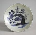 Chinese 18th/19th Century Blue & White Dehua Porcelain Dish