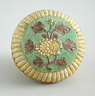 Fine & Rare Chinese Ming Dynasty Kochi Ware Covered Box with Ming Mark