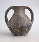 Rare Chinese Han Dynasty Pottery Amphora (206 BC - AD 220)