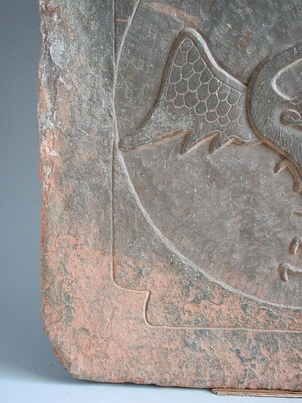 Fine Large Chinese Jin Dynasty Stone Tile - Bird (AD 1115 - 1234)