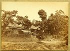 Original Japanese Albumen Photo of Yokohama by Beato. 1865, Edo Period