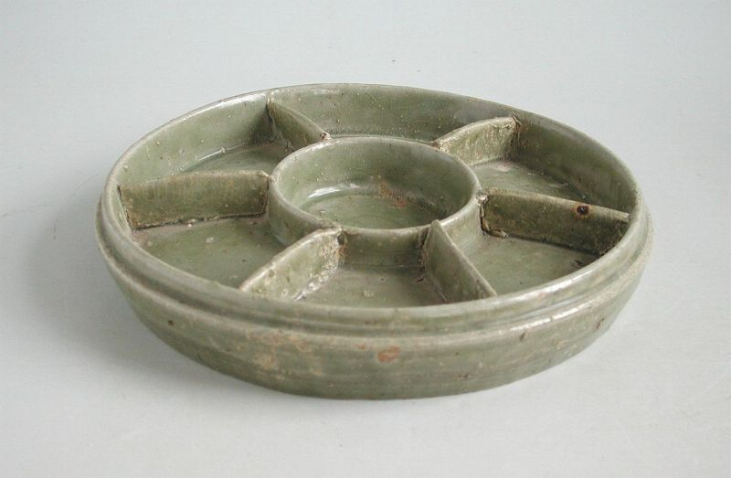 Fine & Rare Chinese Western Jin Dynasty Yue Ware Tray