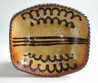 Fine Ray Finch Winchcombe Slipware Baking Dish 1955