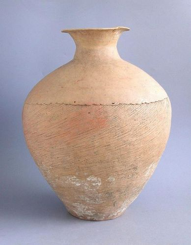 SALE Large Chinese Neolithic Caiyuan Pottery Jar with Oxford TL Test
