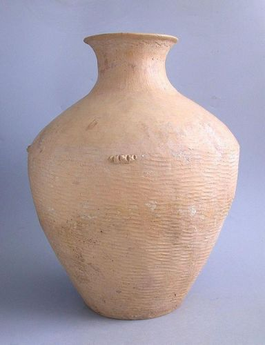 SALE LARGE Chinese Neolithic Pottery Jar - Caiyuan Culture (c. 2600 -