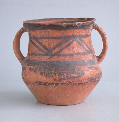 SALE Chinese Neolithic Painted Pottery Jar - Machang (c. 2300 - 2000BC