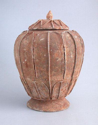 SALE Chinese Song / Yuan Dynasty Buddhist Lotus Jar