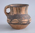 Rare Chinese Neolithic Pottery Jar / Cup - Machang