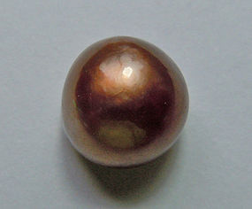 Rare Natural Saltwater Bronze-Chocolate Pearl 4.08ct