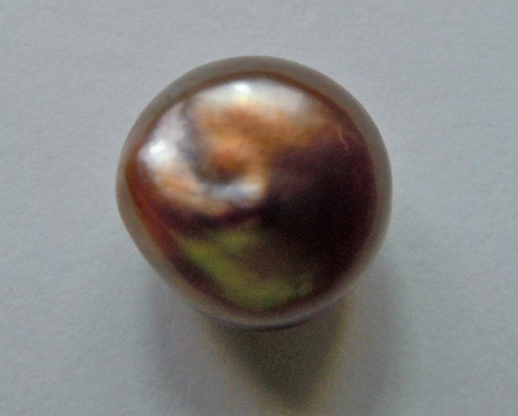 Rare Natural Saltwater Bronze-Chocolate Pearl 4.08ct
