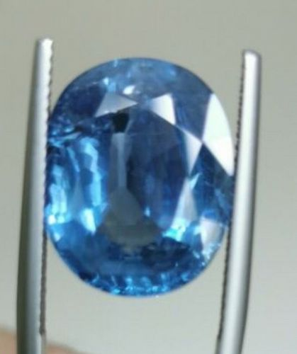 A Fine And Rare Unheated Burma Sapphire 14.14ct & GIA Certificate