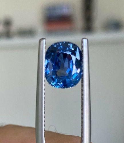 Sensational Unheated Burma 3.06ct Blue Sapphire GIA Certificate