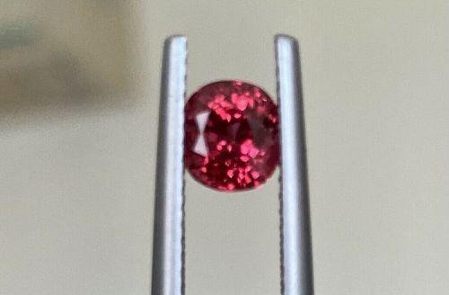 Superb 1.20ct Burma Mogok Red Spinel