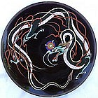 Meiji Japanese Cloisonne Charger