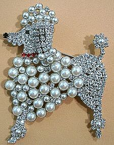 Butler & Wilson French Poodle Brooch