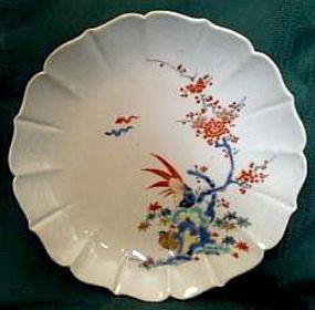 Kakiemon Porcelain Shallow Dish - Pheasants