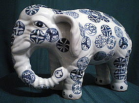 18th Century Arita Elephant