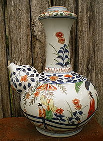 Ko-Imari Export Porcelain Kendi