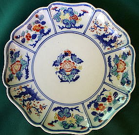 Kakiemon Floral Shallow Bowl