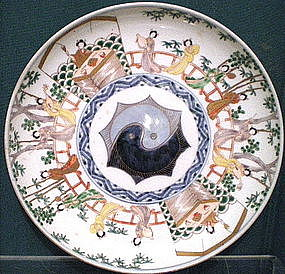 Imari Shallow Bowl