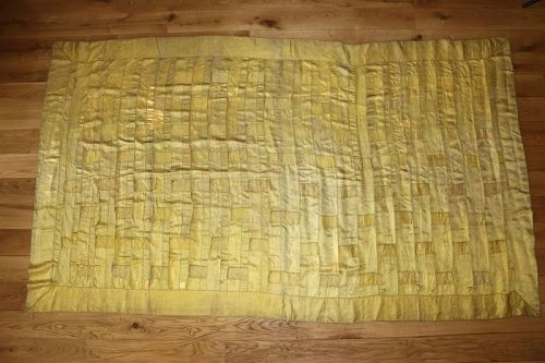 Yellow Silk Kesa