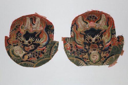 Ming Dynasty Dragon festival Badges