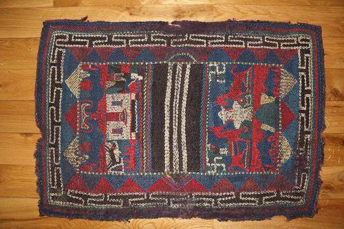 Tibetan Nomadic Embroidered Saddle Cloth