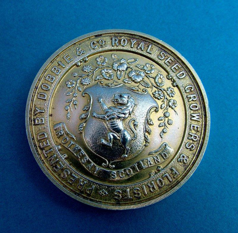 Exonumia, Growers and Florists medal, Dobbie & Co.