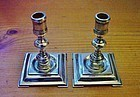 miniature sterling candlesticks, William B. Meyer,