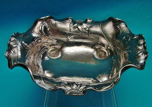 Gorham Martelé shaped rectangular bowl