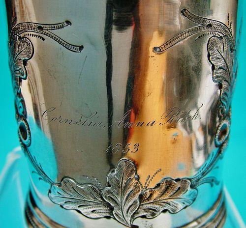 Cornelia Anna Ritch christening cup