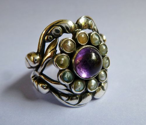Georg Jensen ring, model number 10