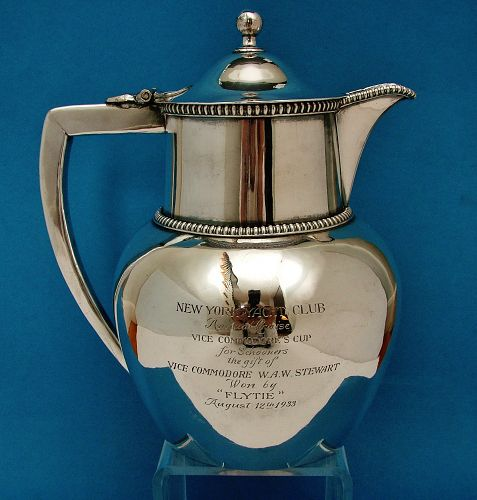 Yachting trophy for 1933 Vice Commodore's Cup, N.Y.Y.C.,