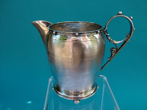 Gorham coin silver cream jug model number 70