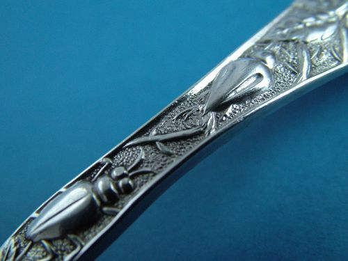 Knowles ROSE pie knife (with bugs)