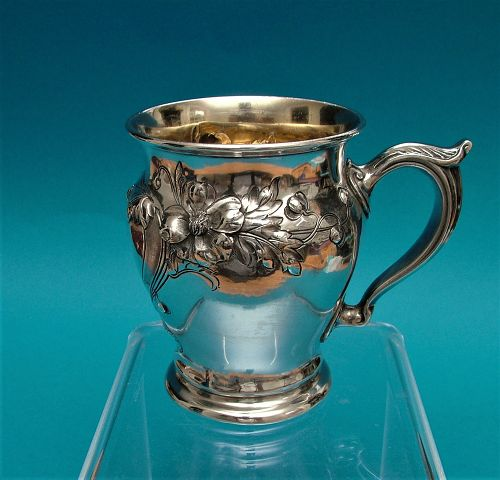 Reed & Barton sterling christening cup