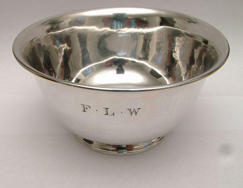 Katherine Pratt sterling Revere form bowl