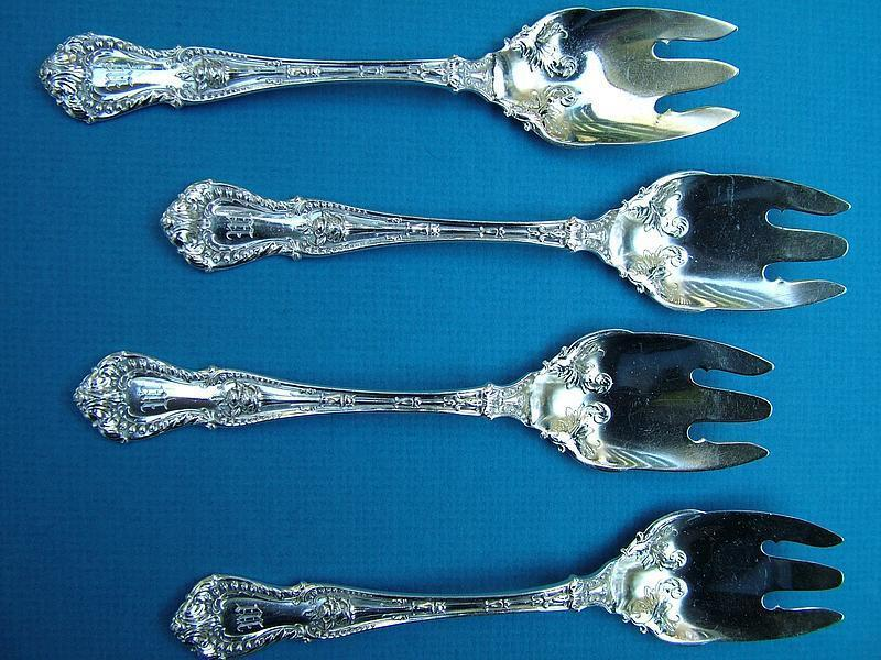 10 International RICHELIEU ice cream forks