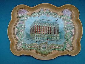 Hotel Astor souvenir pin tray, L. Strauss & Sons