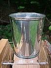 Henry Hudson Kentucky coin silver julep cup,
