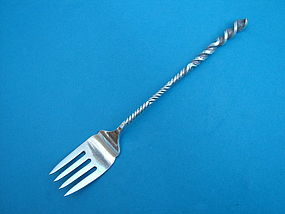 Towle #27 TWIST salad fork